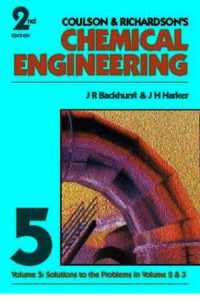 Chemical Engineering Volume 2 Fifth Edition