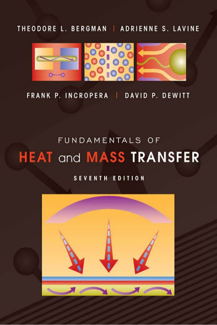 Fundamentals of Heat and Mass Transfer by Incropera 7th edition Pdf Free download