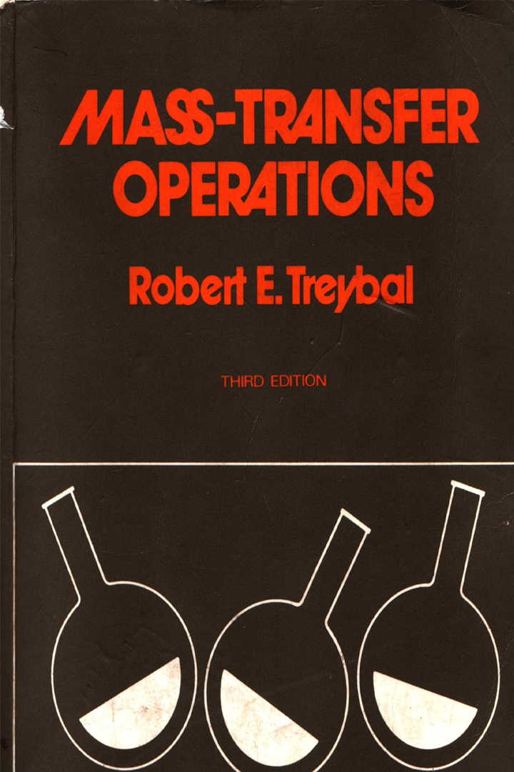 treybal mass transfer operations solution manual