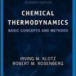 CHEMICAL THERMODYNAMICS Basic Concepts and Methods Seventh Edition Pdf Free Download
