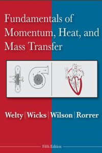 Fundamentals of Momentum Heat and Mass Transfer 5th Edition