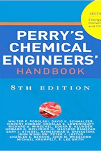 Perry's Chemical Engineering Handbook 8th Edition