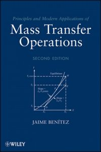 Principles and modern applications of mass transfer operations Jaime Benitez