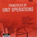 Principles of Unit Operations Foust Free Download