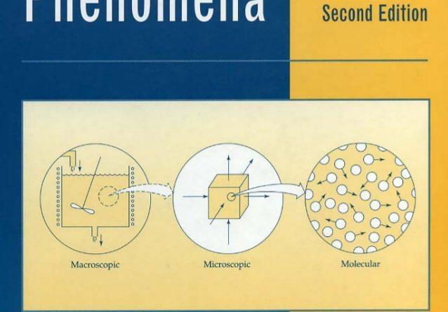 Transport Phenomena 2nd edition pdf