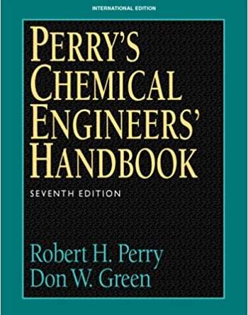 Perry's Chemical Engineering Handbook 7th Edition Pdf Free Download