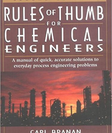 Rules of Thumb for Chemical Engineers Pdf