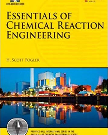 Elements of Chemical Reaction Engineering 5th PDF Fogler Free Download