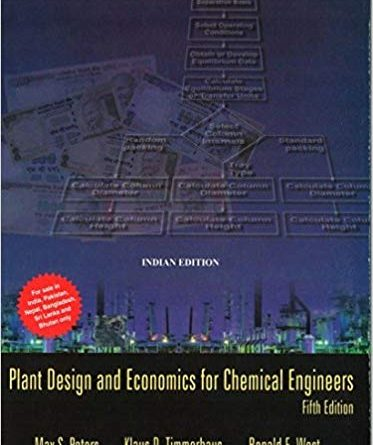 Plant Design and Economics for Chemical Engineers 5th edition Pdf