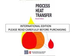 Process Heat Transfer Pdf